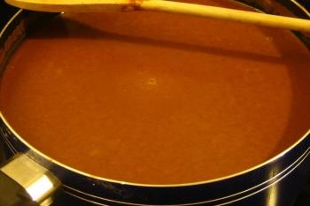Chocolate caliente de Perú